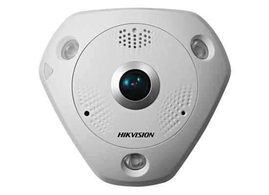 fisheye network camera HIKVISION